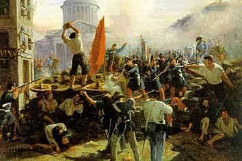 France: Establishment of Second Republic