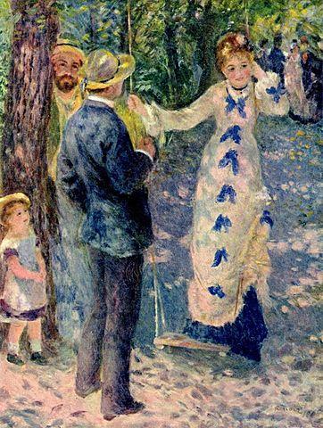 Renoir: El gronxador