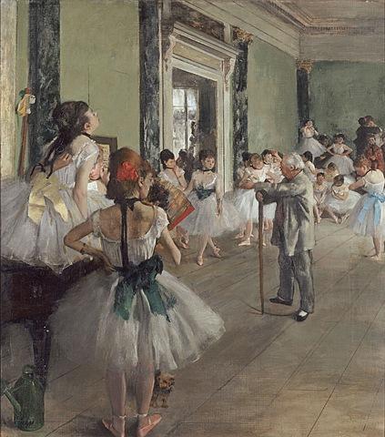 Degas: La classe de dansa