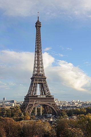 Arquitectura del ferro (Segona meitat del segle XIX): Torre Eiffel