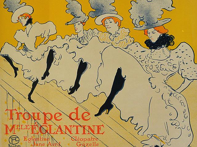Toulousse Lautrec: La companyia de Mademoiselle