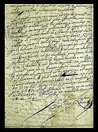 Consejero De Virrey Dirige Carta A Carlos V