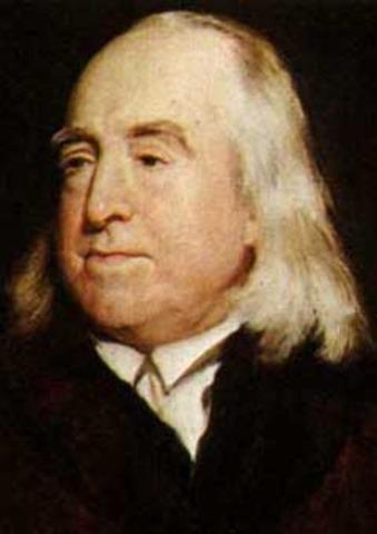 nuevas teorías como la de Bentham