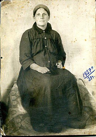 Мать героя Попова Александра Семеновна