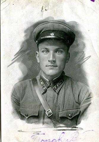 Попов В. Г. курсант полтавского военного автотракторного училища