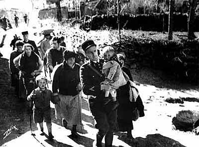 """Evacuación de los llamados """"hijos de la guerra"""""""