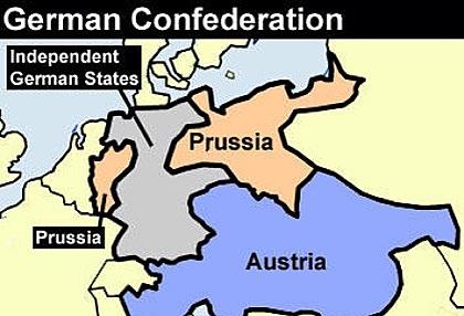 German States: Germanic Confederation established