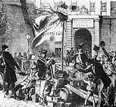 Austrian Empire: Revolt in Austrian Empire; Metternich Dismissed