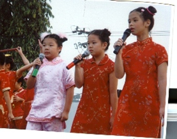 Sang on Chinese New Year!!!