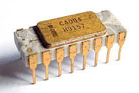 Intel 4004, o primeiro