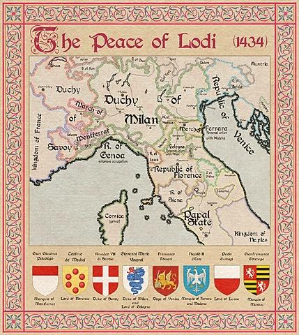 Creation of the Italic League