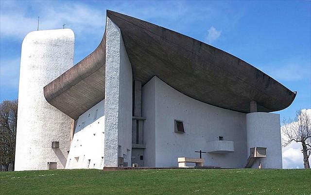 Capilla Notre Dame du Haut, Le Corbusier