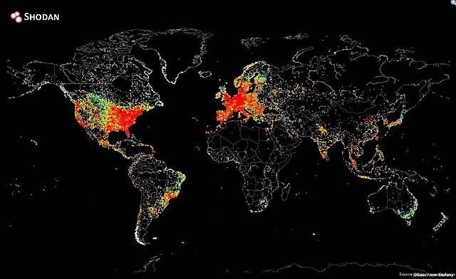 Les premières cartes géographiques sur le web