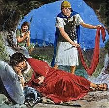 David Spares Saul's Life