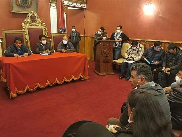 Oruro ingresa en cuarentena tras la aparición de más casos de coronavirus