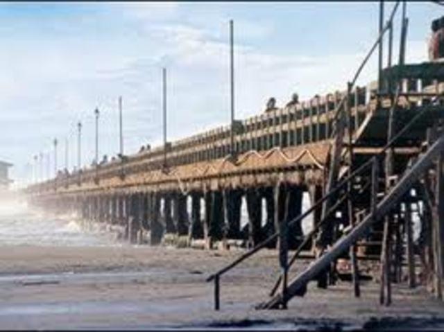 Inauguracion del muelle de Puerto