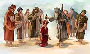 David is Anointed King by Samuel