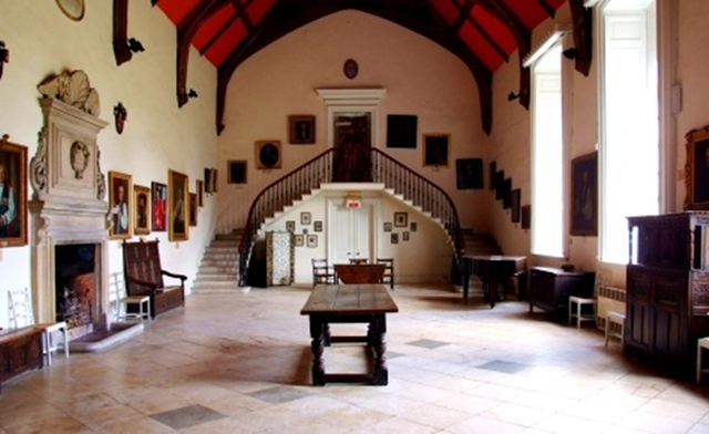 Great Hall erected