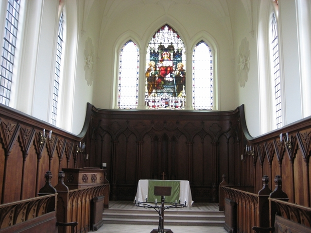 Chapel remodelled
