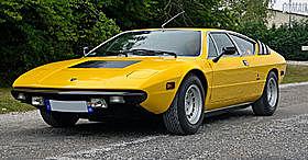 Lamborghini urraco: V8 ohc/dohc med 180/217/247 HP.