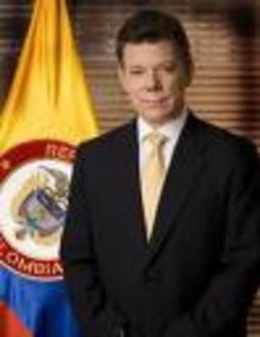 Juan Manuel Santos presidente (2010-2014)