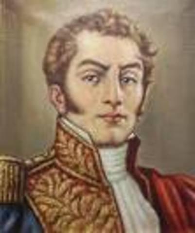 Antonio Nariño desembarca en Angostura.