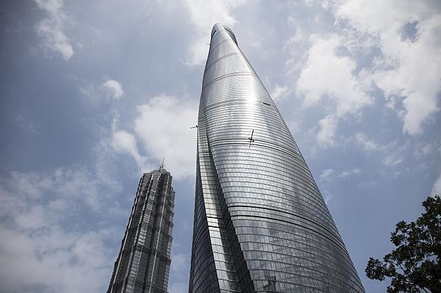 Shanghai Tower | 632 m | 128 korrust