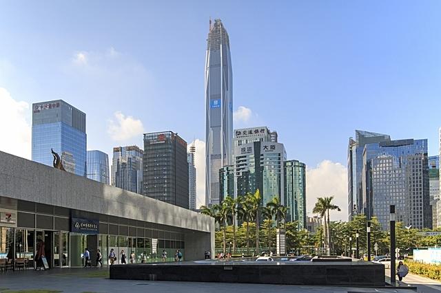 Ping An Finance Center | 599 m | 115 korrust