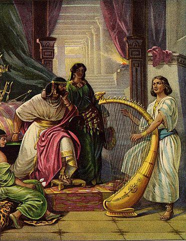 David Plays for Saul