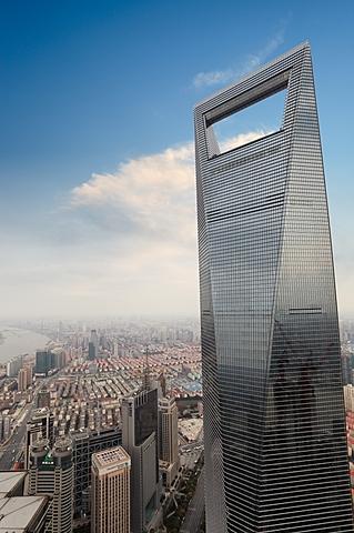 Shanghai World Financial Center | 492 m | 101 korrust