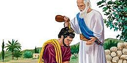 Saul is Anointed King