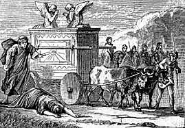 David Brings the Ark of the Covenant to Jerusalem