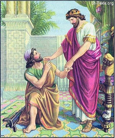 David is Kind to Mephibosheth