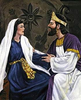 David saw Bathsheba