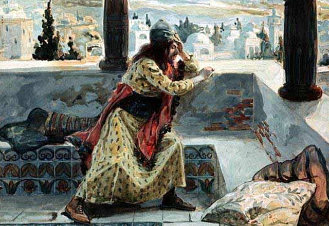 David commits adultery with Bathsheba