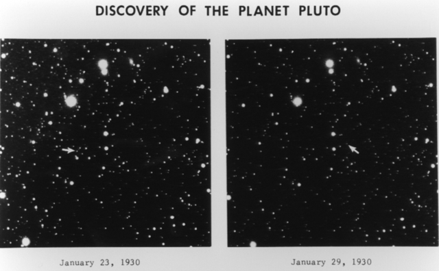 Discovery of Pluto as a planet
