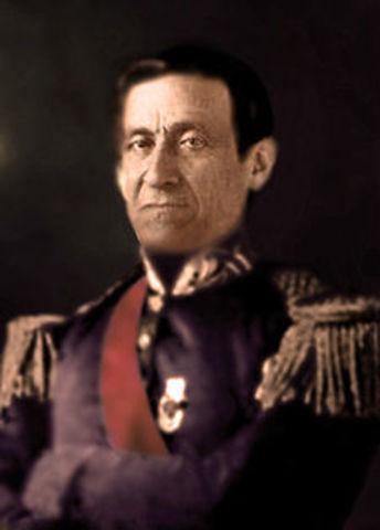 Presidente de Nueva Granada: José María Melo