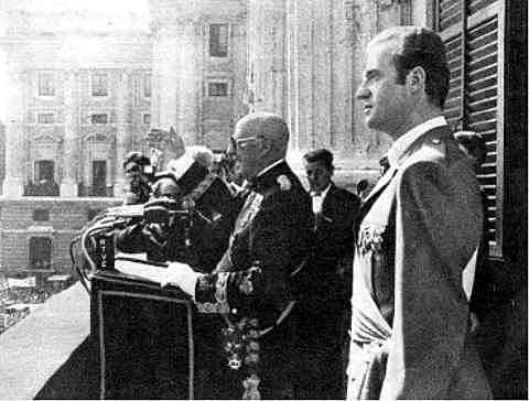 Franco designa su primer gobierno