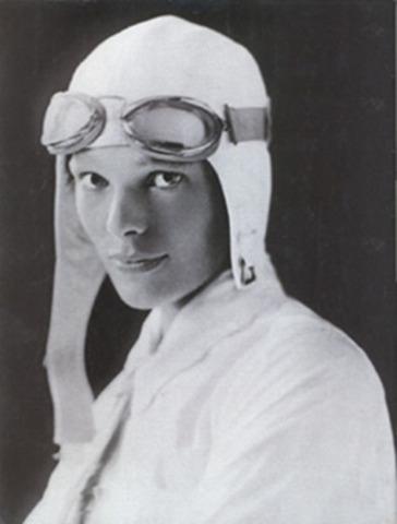Amelia Earhart flies solo across the Atlantic ocean