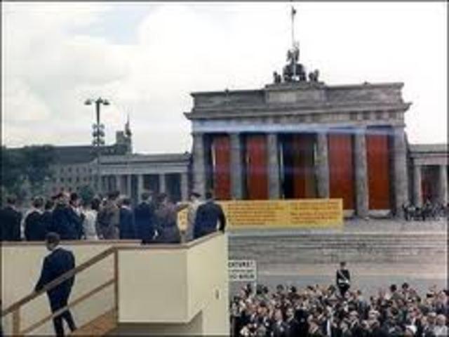 presidente de los Estados Unidos Jhon F. Kennedy, visita Colombia