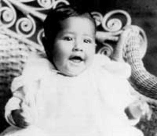Birth of Cesar Chavez