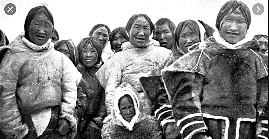 Pacific Eskimo Time of Contact with Europeans