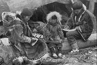 Bering Sea Eskimo Time of Contact with Europeans