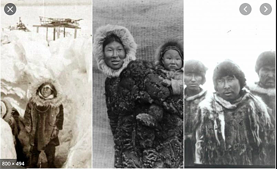 Northern Eskimo Time of Contact with Europeans