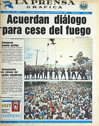 Acuerdan diálogo en San Ignacio, México, para darle fin al conflicto armado