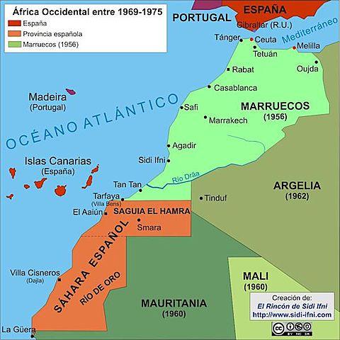 Descolonització de Guinea Equatorial, Sidi Ifni i Rio Muni
