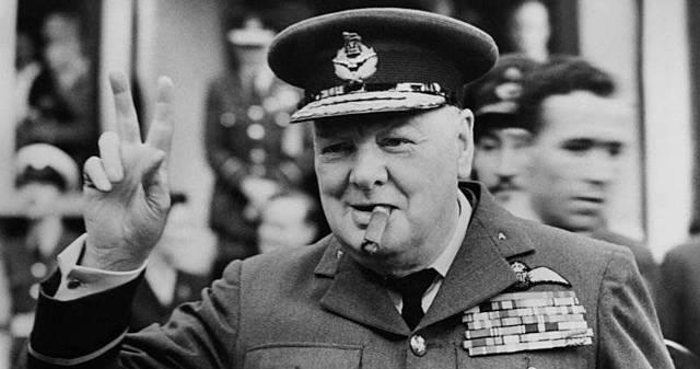 "Winston Churchill: ""Blood, toil, tears and sweat"""