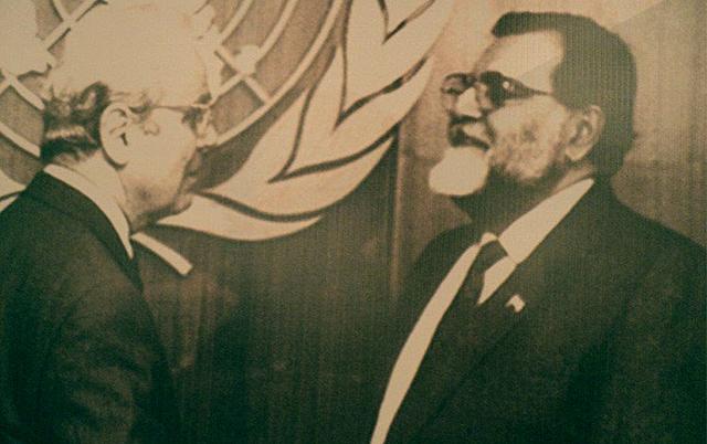 Las Naciones Unidas interviene en el conflicto armado