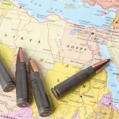 Conflitos na África timeline