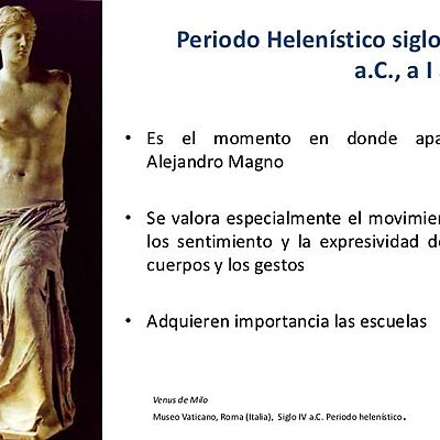 Escuelas Helenísticas timeline